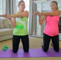 Arms Hips Workout for Pregnant Women - Pregnancy Exercises Fitness